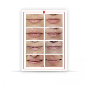 Tappetino realistico per pratica labbra